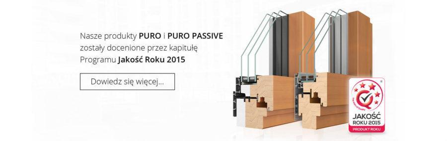 Okna drewniano aluminowe PURO oraz PURO Passive
