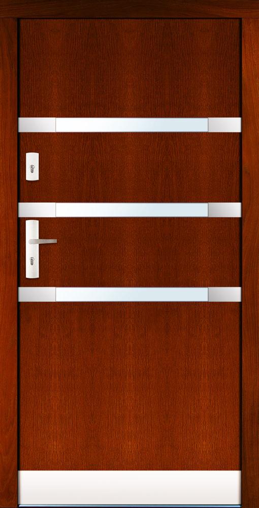 Drzwi CAL wzór Mszczuj