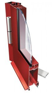 Drzwi aluminiowe zimne PT 50