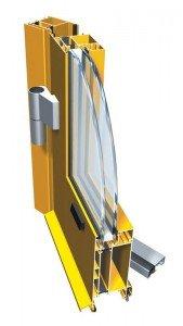 Drzwi aluminiowe ciepłe PT 60