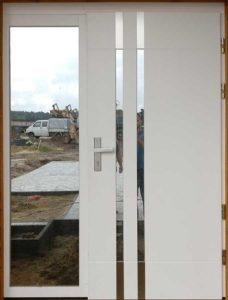 drzwi CAL Florian z naświetlem kolor biały