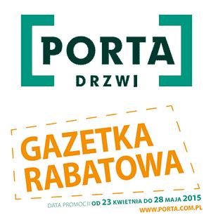 Porta Drzwi gazetka rabatowa od 23 kwietnia do 28 maja 2015