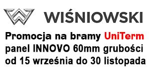 Promocja bram Wiśniowski UniTerm